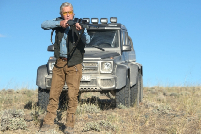 BEYOND THE REACH - 2015 FILM STILL - Michael Douglas - Photo credit: Clay Enos